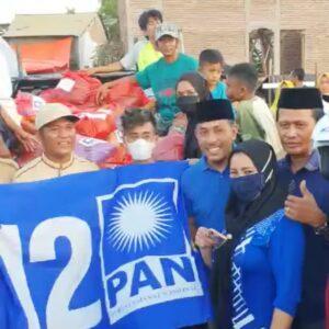 PAN Kabupaten Bima Salurkan Bantuan Korban Kebakaran di Sape