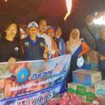 Cinta STIE Bima untuk Korban Kebakaran di Desa Naru Barat