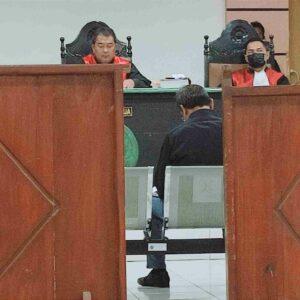 Jaksa Tuntut Terdakwa Kasus Tracking Manggrove 1 Tahun Percobaan