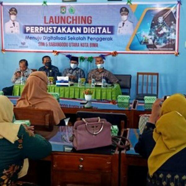 Menuju Digitalisasi Sekolah Penggerak, SDN 05 Launching Perpustakaan Digital