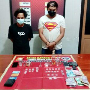 Diduga Pengedar Sabu-Sabu, 2 Pemuda Digelandang ke Polres Bima Kota