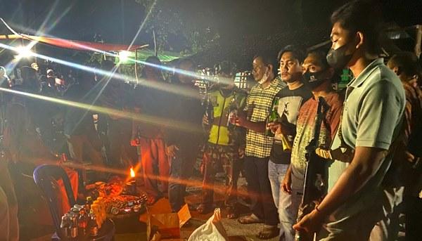 Polisi Sita Miras Saat Acara Biola Katipu di Oi Fo'o